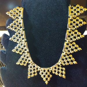Vintage Heavy Gold-Plated Necklace